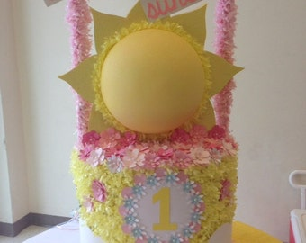 "Custom ""You Are My Sunshine"" Piñata"