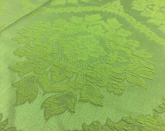 Vintage fabric Green Ornaments 50x 120cm