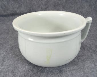Royal Ironstone Alfred Meakin Chamber Pot With Handle
