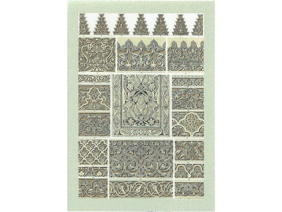 Wall Decor With Scrapbook Paper : Decoupage paper scrapbook wall decor poster