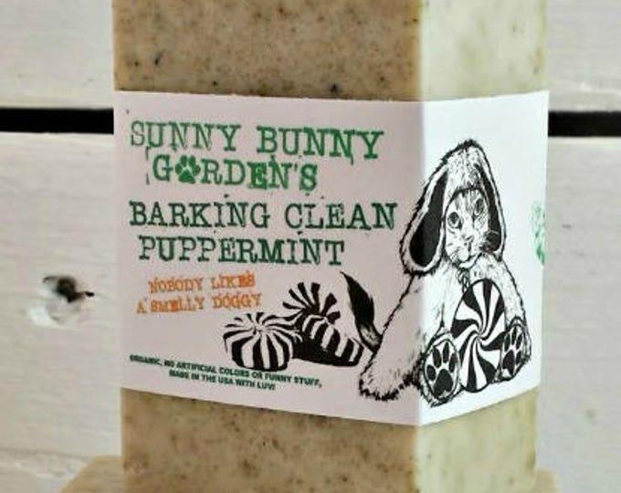 Peppermint Dog Soap, Doggy Gift Idea, Shampoo for Dogs, Organic Dog Soap, Dog Soap Bar, Soap For Dogs, Organic Vegan Dog Soap Bar, Happy Pup