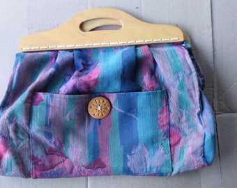 Shoping Bag Fabric Shoping Bag Old Shoping Bag Vintage Shoping Bag, Market Bag, Handbag
