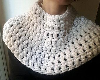 women's wool handmade crochet neck warmer