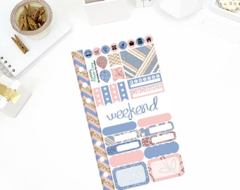 Serendipity Personal Weekly Kit! Perfect for your Erin Condren Life Planner, calendar, Paper Plum, Filofax!