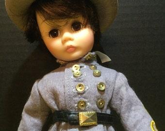 Madame Alexander Confederate Soldier Scarlett Series Doll