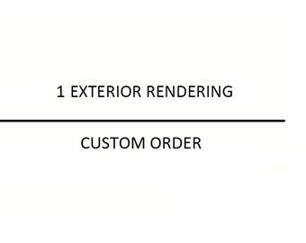 Custom Exterior Rendering for J A