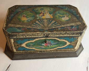 Vintage Artstyle Chocolate Tin