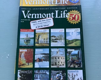 Set of 3 Vermont Magazines
