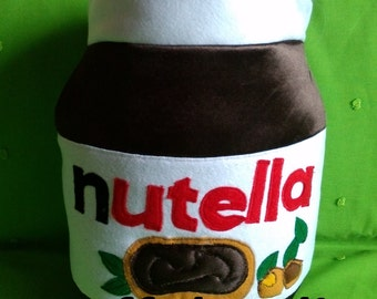 Pillow Nutella Christmas gift idea