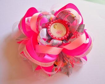 how to make big hair bows for babies