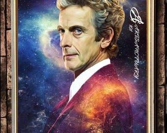 12th Doctor digital portrait