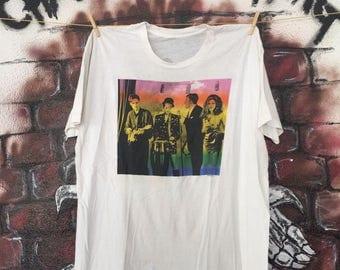 Vintage '89 The B-52s New Wave Tour Concert T Shirt