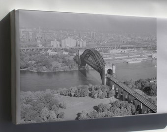 Canvas 24x36; Hell Gate Bridge From West Looking Northeast 348973Pv
