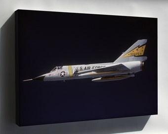Canvas 16x24; F-106 Delta Dart  P1
