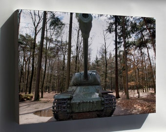 Canvas 16x24; Is 2 Iosif Stalin Tank Pic4