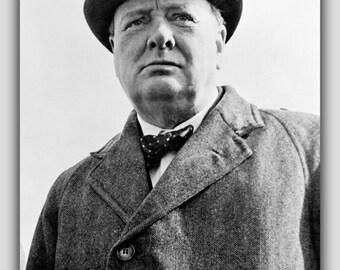 16x24 Poster; Sir Winston Churchill P2
