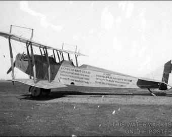 16x24 Poster; Curtiss Jn-4 Jenny 1918 P1