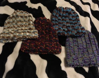 Crochet beanie hats