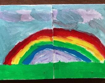 Rainbow 2-part set