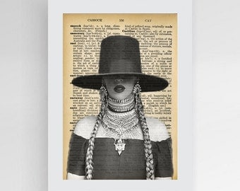 Instant download, Middle Fingers Up, Beyonce Formation, Fine Art Print, Queen b, Queen Beyonce, lemonade,