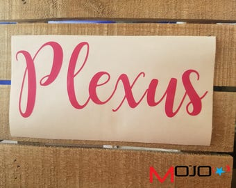 Plexus DECAL Colors:Pink,White or Black