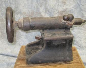 Machinist Machine Metal Lathe Tooling Tailstock Vintage Tool Part Precision