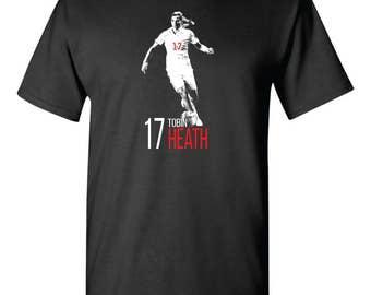 Tobin Heath Fan Training Tee Shirt USWNT Women's Soccer Fanatic