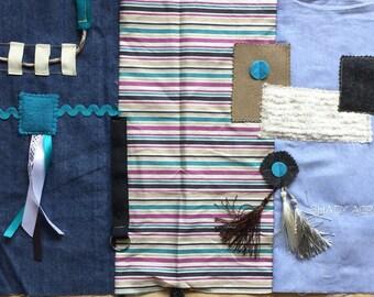 WHOLESALE LOT | FIVE Quilts | Alzheimer's Fidget Quilt | Nursing Home | Group Home | Memory Care | Fidget Blanket | by Restless Remedy