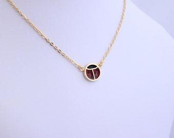 Ladybug Necklace