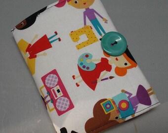 Crayon Wallet, Art Kit, Organizer Career Girls Fabric