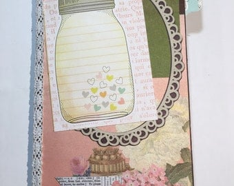 Such Fun- Decorated Booklet Cover - Traveler's Notebook Insert