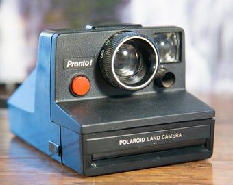 Black Polaroid Pronto! Instant Camera - #P85