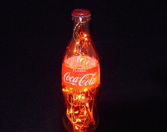 Coca Cola Bottle Light-amber