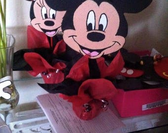 Minnie & Mickey Mouse centerpieces