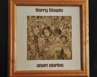 LP Album Frame, Cherry Wood, Style 3