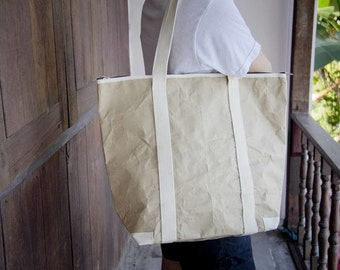 Peper Shopping Bag made of recycled Water-Resistant paper