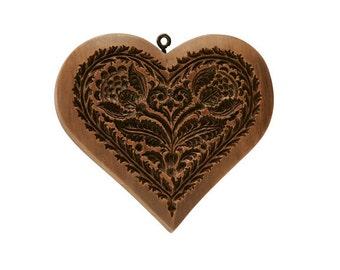 Sentimental Heart Cookie Mold