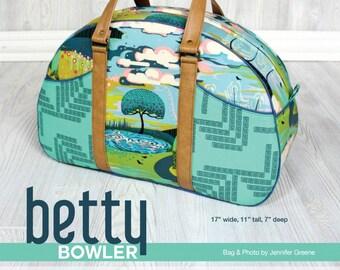 Betty Bowler Bag - Swoon Patterns - Bag Pattern