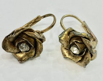 Vintage Rosette Earrings