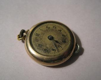Vintage Pocket Watch Modish Swiss Elgin Ramona Illinois Watch Case