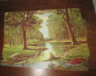 """Robert Wood """"Seasons"""" Placemats (Spring and Summer only)"""