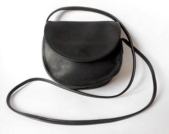 COACH Shoulder Bag, Coach Black Leather Bag, Vintage Bag