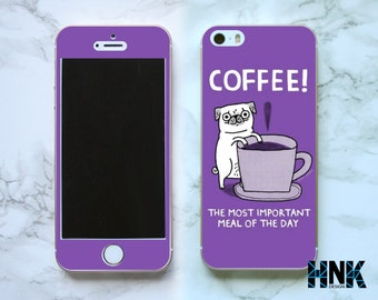 Iphone SE full skin / Iphone 5s decal / Iphone 5 decorative cover / coffee case IS019