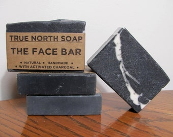 Face Bar - All Natural Soap, Handmade Soap, Facial Soap, Charcoal Soap