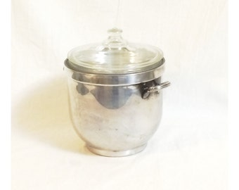 Vintage W.S. Blackingon Silver Plated Ice Bucket Wine Campagne Chiller