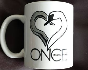Hand painted mug inspired by Once Upon a time