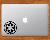 Star Wars Imperial Seal Logo Apple MacBook Decal Laptop Sticker Star Wars Laptop Decal