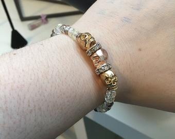 Crystal Skull Sparkle bracelet