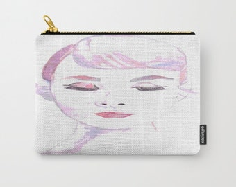 Small Audrey Hepburn Carry All Pouch