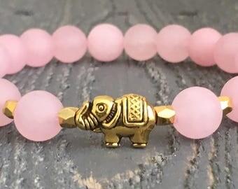 Elephant Bracelet, Elephant Jewelry,  Boho Bracelet, Elephant Charm,  Boho Jewelry, Bohemian Bracelet, Beaded Bracelet, Elephant